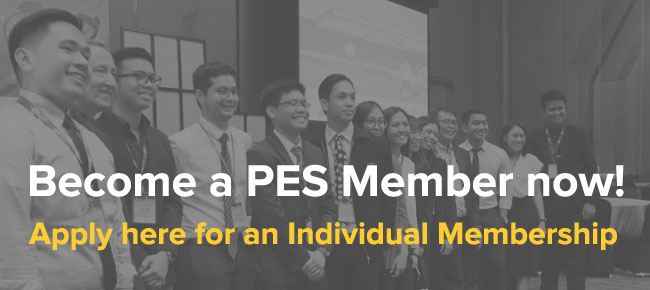 Become an PES Member now - Individual Application
