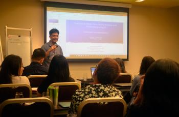 PES spearheads trainings on forecasting, data analysis