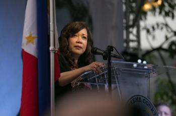 Chief Justice Maria Lourdes Sereno. ABS-CBN News