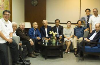 PES hosts gathering of advisers and former presidents